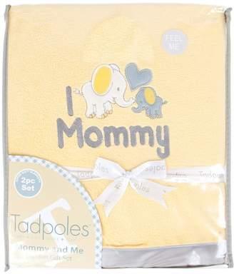 Tadpoles Mommy & Me Super Soft-Soft Coordinating Plush Blankets