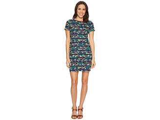 Tommy Bahama Bamboo Forest Stripe Short Sleeve Dress Women's Dress