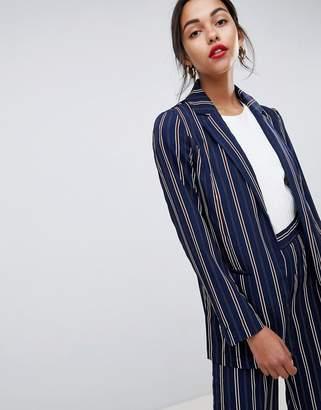 Vila stripe suit blazer
