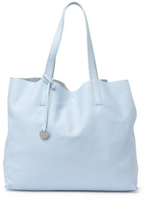 Coccinelle Metallic Reversible Leather & Suede Tote