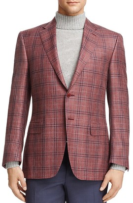 Canali Plaid Classic Fit Sport Coat $1,595 thestylecure.com