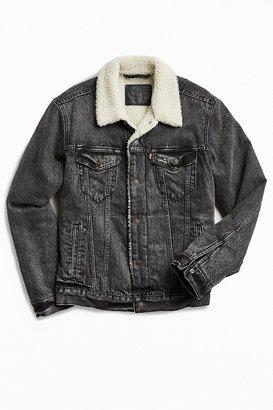 Levi's Levi's Denim Sherpa Jacket $129 thestylecure.com
