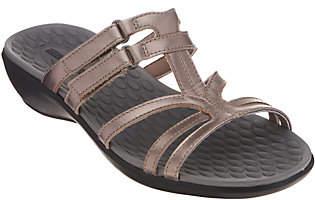 Clarks Leather Adjustable Slide Sandals -Sonar Pilot