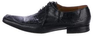 Mezlan Lizard Derby Shoes
