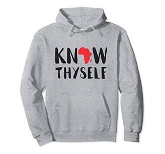African Pride Know Thyself - African Roots Hoodie Sweatshirt