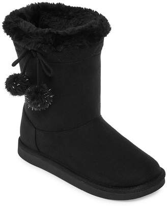 Arizona Girls Zenith Winter Boots Flat Heel Pull-on