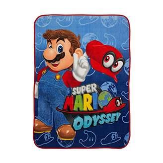 Nintendo Super Mario I Got This Microraschel Throw
