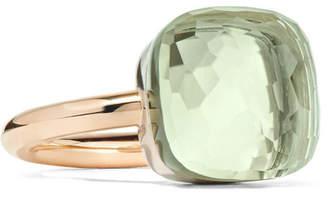 Pomellato Nudo Maxi 18-karat Rose Gold Prasiolite Ring
