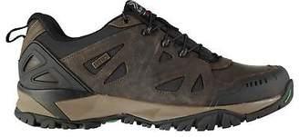 Karrimor Mens Surge Leather WTX Walking Shoes Waterproof Breathable Upper