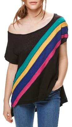 Women's Free People Stripe Tee $68 thestylecure.com