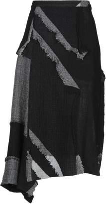 Yohji Yamamoto 3/4 length skirts