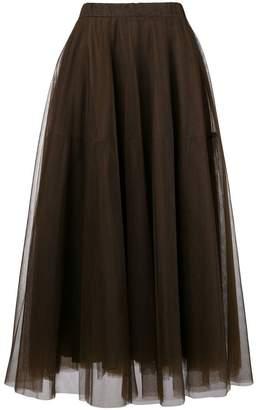 P.A.R.O.S.H. full mid-length skirt