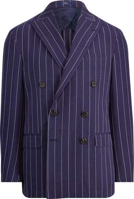 Ralph Lauren Morgan Striped Suit Jacket