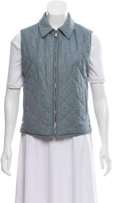 Loro Piana Wool Quilted Vest