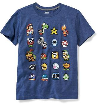 Super Mario 8-Bit Graphic Tee for Boys $16.94 thestylecure.com