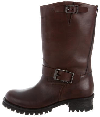 BelstaffBelstaff Leather Mid-Calf Boots