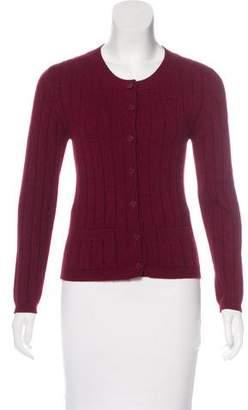 Chanel Wool Cardigan