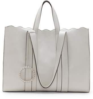 674b06b05d7c Vince Camuto Scallop Leather Tote