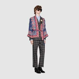 Gucci Silk kimono jacket