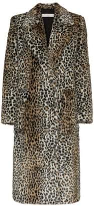 Philosophy di Lorenzo Serafini leopard print cotton-blend coat