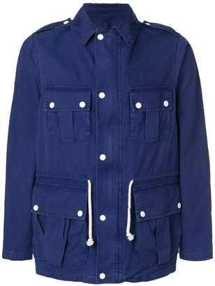MAISON KITSUNÉ point-collar field jacket