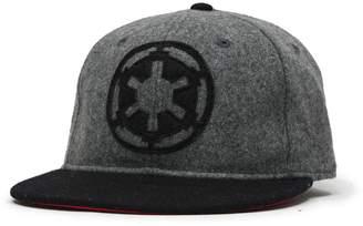 Star Wars Imperial Rebel Wool Adjustable Flatbill Baseball Cap