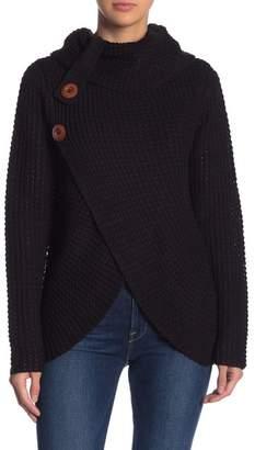 Blu Pepper Turtleneck Knit Sweater