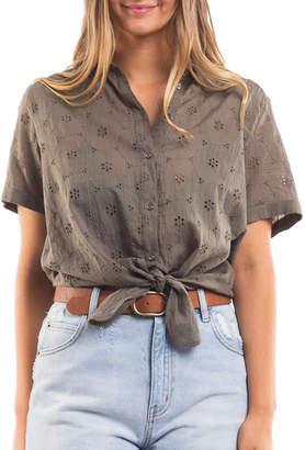 All About Eve Annika Shirt - Khaki