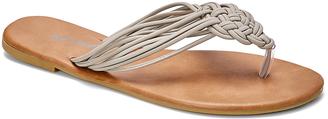 Taupe Knottie Sandal $12.95 thestylecure.com