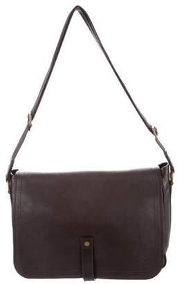 Louis Vuitton Leather Messenger Bag