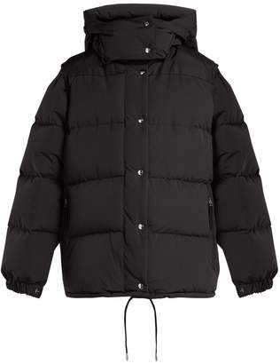 Burberry Plymton detachable-sleeve hooded jacket
