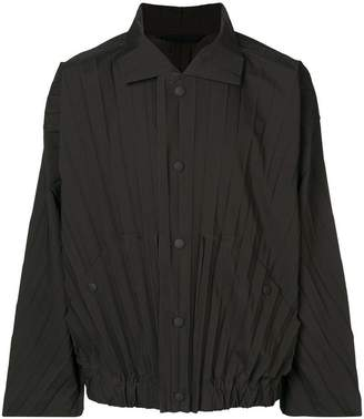 Issey Miyake Homme Plissé pleated lightweight jacket