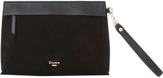 Dune Eharriet faux-leather clutch bag