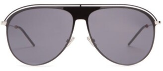 Christian Dior Sunglasses - Aviator Metal Sunglasses - Mens - Black