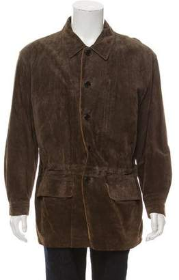 Pendleton Pig Leather Suede Anorak Jacket
