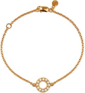 Louise Varberg Jewellery - Diamond Hula Bracelet Yellow Gold