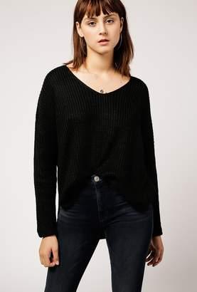 Azalea V-Neck Chunky Knit Sweater