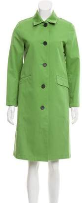 Burberry Long Belted Coat