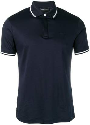 Emporio Armani slim fit polo top