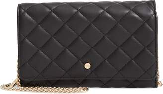 MALI AND LILI Mali + Lili Ciara Quilted Vegan Leather Convertible Clutch