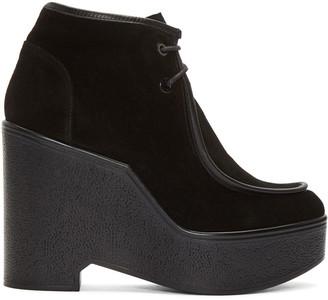 Robert Clergerie Black Bora Boots $595 thestylecure.com