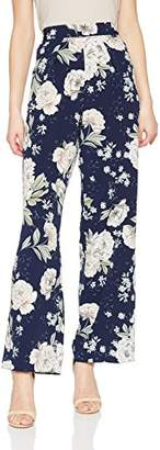 Dorothy Perkins Women's Print Palazzo Trousers,(Manufacturer Size: 12)