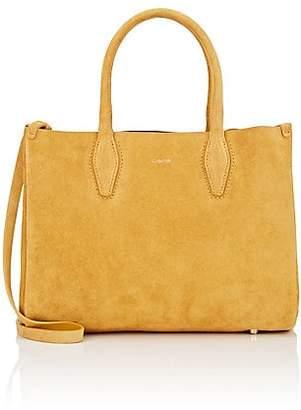 Lanvin Women's Small Suede Shopper Tote Bag