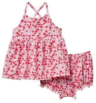 Pippa & Julie Floral Value Dress (Baby Girls 0-9M)