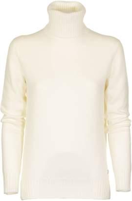 Loro Piana Dolcevita Parksville Baby Cashmere White Sweater