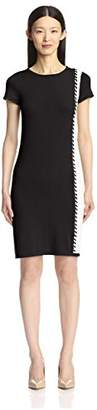 Society New York Women's Whipstitch Color Block Dress