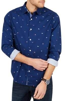 Nautica Classic-Fit Stretch Oxford Button-Down Shirt