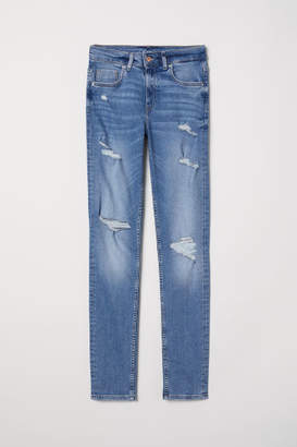 H&M Skinny High Jeans - Blue