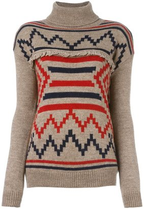 Woolrich turtleneck jumper $259.40 thestylecure.com