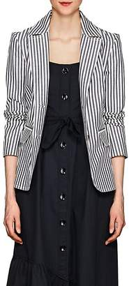Derek Lam 10 Crosby Women's Striped Cotton Twill Blazer